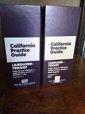 California  Practice Guide Rutter LandLord Tenant 2015