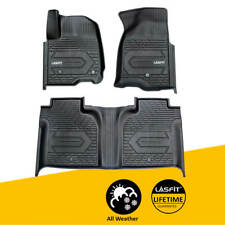 Floor Mats for Gmc Sierra 1500 2020 2019 1st&2nd Rows Custom All Weather Liners