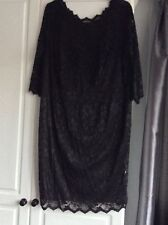 DOROTHY PERKINS BLACK LACE Plus Size Dress Size 26 BNWT Perfect  CONDITION