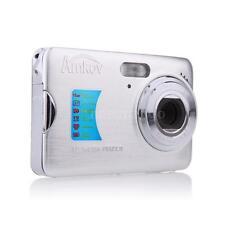 "HD Digital Camera 18MP 2.7"" TFT 8x Zoom Anti-shake Video Camcorder White O2J8"