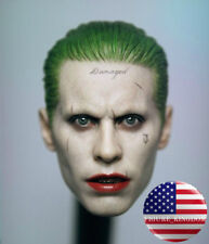 "1/6 Joker Head Sculpt Jared Leto Suicide Squad Batman For 12"" Hot Toys PHICEN"