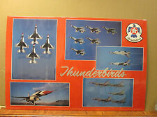 Vintage Thunderbirds U.S. Air Force poster Military 7012