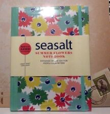 Seasalt A5 Hardback Notebook with 144 Pages of Lined Paper Summer Flowers