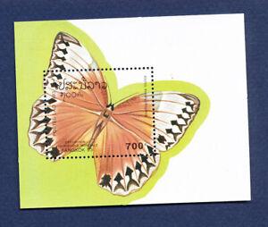 LAOS - Scott 1148 - FVF MNH S/S - Butterfly  - 1993