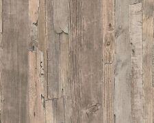 Vliestapete Holz braun beige Tapete As Decoworld 95405-3 954053