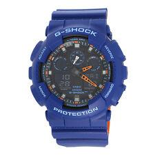 Orologio Casio G-Shock GA-100L-2AER Blu Arancio Nuovo Originale Ufficiale