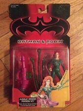 New 1997 Batman and Robin: Jungle Venom Poison Ivy Action Figure - In Package