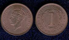BRITISH HONDURAS 1 CENT 1950 CU FDC mrm