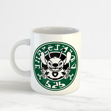 Disney Starbucks mug, Expérience 626 Funny Fan Tasse, Lilo & Stitch