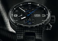 ORIS Uhr WILLIAMS VALTTERI BOTTAS Limit Edition # 770 Stück # Full Set Fabrikneu