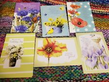 New Listing6 Assorted Marjolein Bastin Birthday Greeting Cards with Scripture Lot A