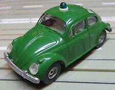 Faller AMS --  VW Käfer Polizei mit  Blinklicht + 8 neue  Repro Reifen