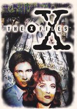 1996 X-FILES SEASON 1 RARE PROMO CARD #0  MERLIN (UK) BOX TOPPER OVERSIZED TOPPS