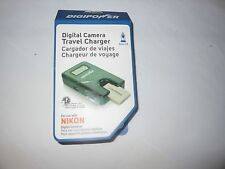 Digipower Travel Charger for USB and Nikon Camera Battery Universal  TC-55N