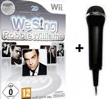 Nintendo Wii We Sing Robbie Williams + 1 Mikro NEU