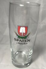 Spaten German Beer Glass .5 Liter Munich Munchen Germany Brewery Bar Oktoberfest