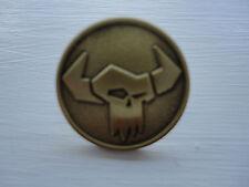 Warhammer 40k Games Workshop Orc Ork Gold Pin Badge Warhammer World Only New
