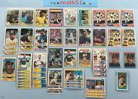 1970~1985 REGGIE JACKSON Vintage Lot x 52 | Topps #459 500 | Yankees HOF Batch
