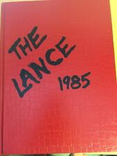 1985 Clackamas High School Cavaliers Annual Yearbook, Milwaukie, Oregon, Lance