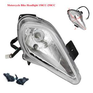 12V Tail Light Lamp 150cc 250cc Farm Quad Dirt Bike 2 pcs ATV Motobike Headlamp