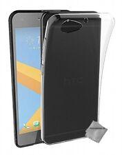 Housse etui coque gel fine pour HTC One A9S + film ecran - TRANSPARENT TPU