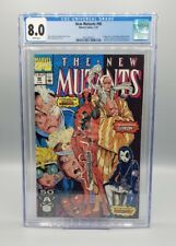 New Mutants #98 CGC 8.0 1st appearance DEADPOOL Marvel (1991)