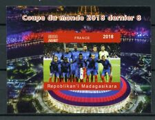 Madagascar 2018 MNH Football World Cup France Griezmann 1v Deluxe S/S Stamps