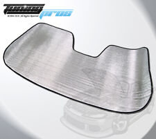 Custom Fit Roll Up SunShade Visor Protector Sun Shade For Chevrolet Volt 2016-19