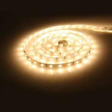 5M 3528 300LEDs Strip Stripe Streifen Band Leiste Lichterkette Warmweiß 12V IP20