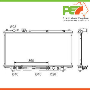 Brand New *PROTEX* Radiator For Mazda 323 BA,BH Prot?g? 1.6, 1.8ltr