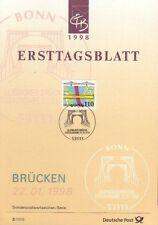 Briefmarken-Ersttagsblätter mit Bauwerks-Motiv