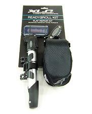 Xlc Ready 2 Roll Road Side Take-Along Mobile Bicycle Repair Tool Kit +Pump +Bag