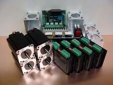 Nema23 Stepper Motor Kit 3.1Nm x 4 Axis + Mounts CNC Parts Mill Router DIY Hobby