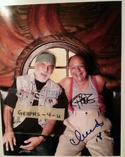 Cheech and Chong Signed Tommy Chong Cheech Marin Autograph COA Y proof