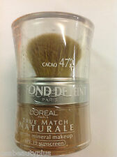 L'Oreal Bare Naturale Mineral Makeup - COCOA 472 NEW