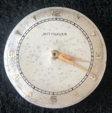 Vintage Wittnauer Cal 11ES Men's Watch Movement Parts/Repair 17j Swiss