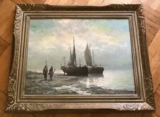 VINTAGE ASIAN ARTIST? -  C.S.YUN (20TH C.) IMPRESSIONIST OIL PAINTING ON CANVAS
