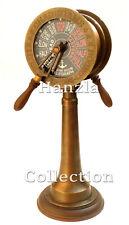 "Vintage Brass Telegraph 20"" Liverpool London Ship Marine Antique Engine Room"