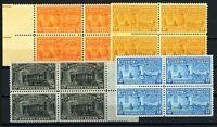 USAstamps Unused VF US Special Delivery Blocks Scott E16, E17, E18, E19 OG MNH