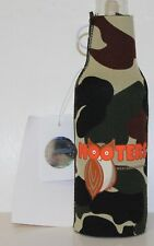 NEW Hooters Bottle Koozie Westside Phonix, AS ~  CAMO ~ New With Tag