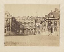 Versailles Grand Photographe primitif à identifier Vintage albumine ca 1860
