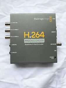 Blackmagic Design H.264 Pro Recorder - Power Adapter included