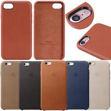 echtes Original Leder Tasche Schutz Hülle Cover Case für iPhone X/8/7/6s/6 Plus