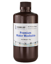 More details for technology outlet premium water washable 3d printer resin
