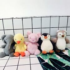 Baby Animals Soft Plush Toys Cuddly Cute Elephant Duck Penguin Piggy Owl