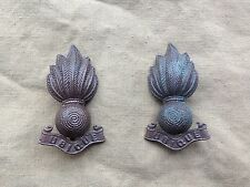 Original WW1/WW2 British Royal Artillery Officers Bronze Service Dress Collars