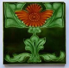 Antique Art Nouveau Tile, c1905