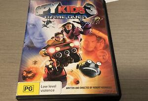 SPY KIDS 3 Game Over DVD - Region 4