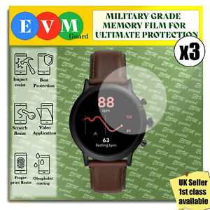 Screen Protector For Fossil Gen 5 Smartwatch x3 TPU FILM Hydrogel COVER
