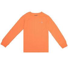 Polo Ralph Lauren Kid's Orange Classic Round Neck L/S T-Shirt